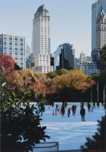 Christian Marsh, The Magic of the Ice, 100 x 70 cm, Oil on canvas