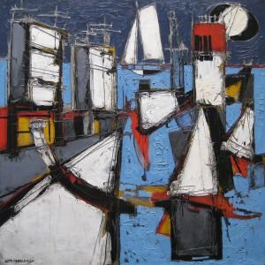 Claude Venard, 'Le Quai' 300dpi