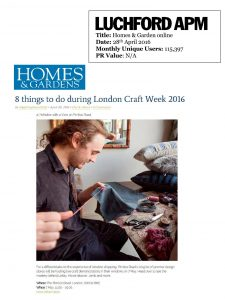 Home and Gardens Online 01.05.16