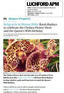 London Evening Standard Homes & Property Online 21.05.16