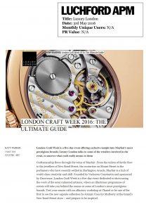 Luxury London 03.05.16